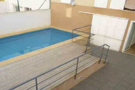Habitación doble con baño privado y terraza - Ciutadella de Menorca - Apartemen