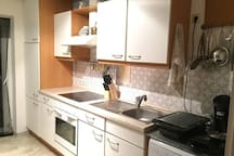 shared kitchen / gemeinsame Küche