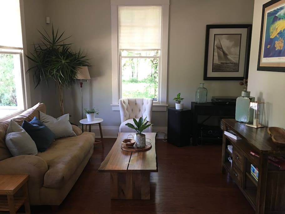 Living Room in front of the house