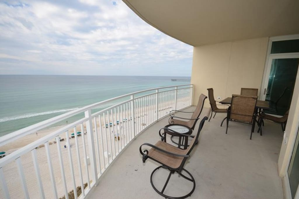 3 bedroom condo with 2 gulf front masters overlooking beach condominiums for rent in panama for 3 bedroom condos for rent in panama city beach fl