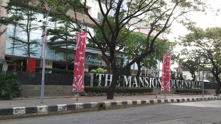 2BR M1 THE MANSION BGV Kemayoran near JIEXPO