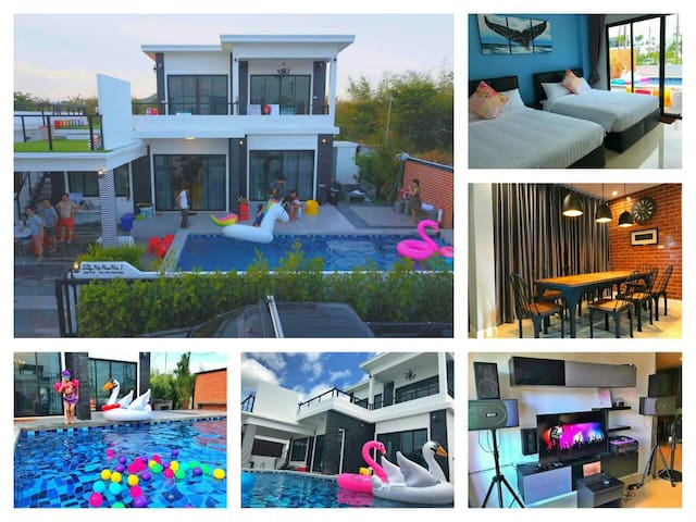 5Br Huahin Party Hip(Pool Villa)