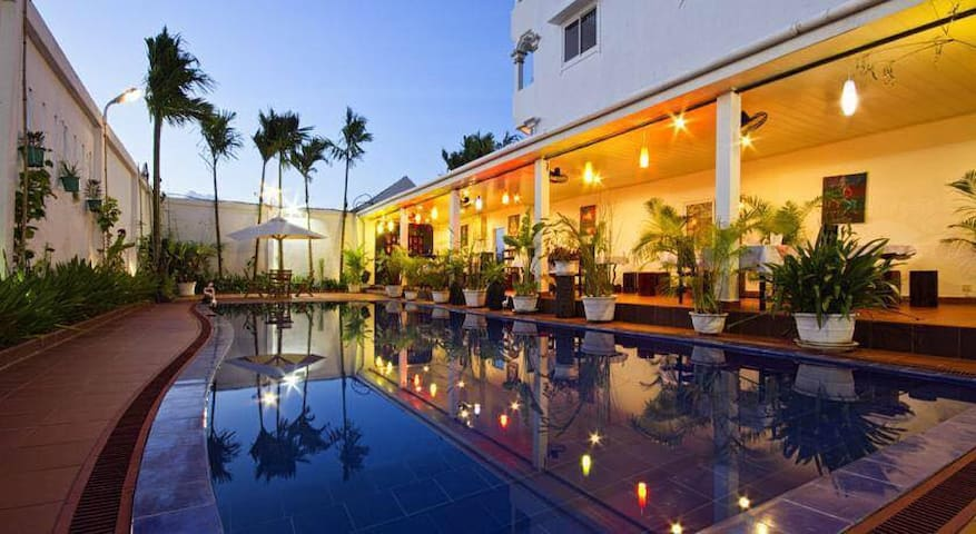 Overflow Guesthouse: Private Double Room - Krong Siem Reap - Pensione