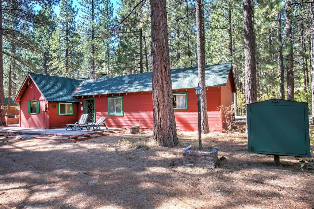 Cozy star lake cabin pet friendly cabins for rent in for South lake tahoe cabins near casinos