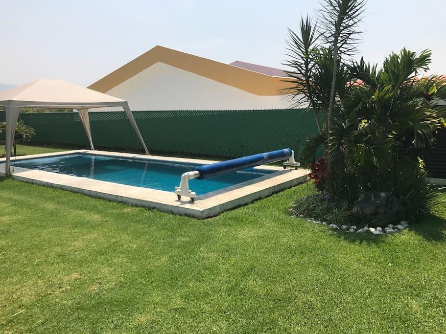 Bonita casa con piscina climatizada en oaxtepec case in for Casa con piscina climatizada