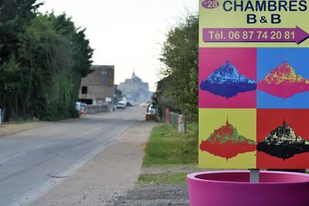 Chambre n°4  Mont-St-Michel wifi + pts déjeuners