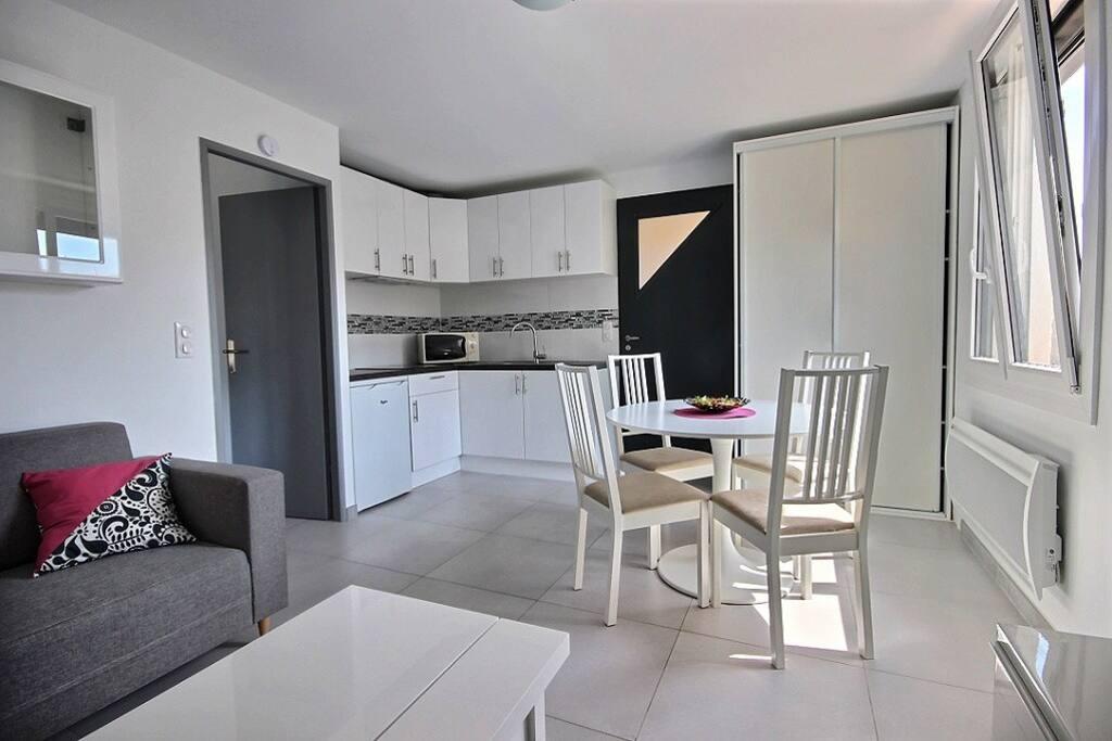 Appartement avec jardin tout equipe grand confort for Jardin potager a louer 78