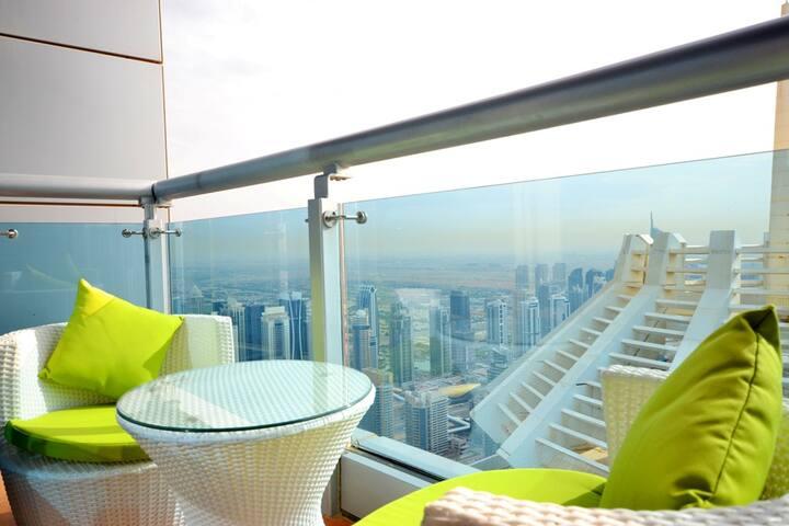 SEA VIEW HIGH FLOOR APARTMENT,DUBAI MARINA  98468  - Dubai - Apartment