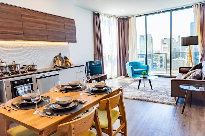 ★ Breathtaking 1 Bed Apt- Water Views★ @ SouthBank