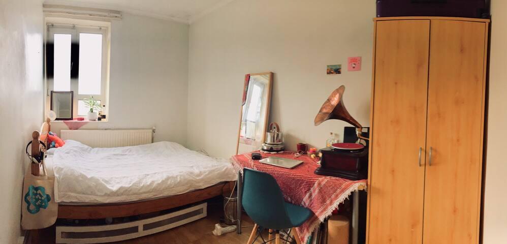 Dalston / Stoke Newington Sunny Double Room