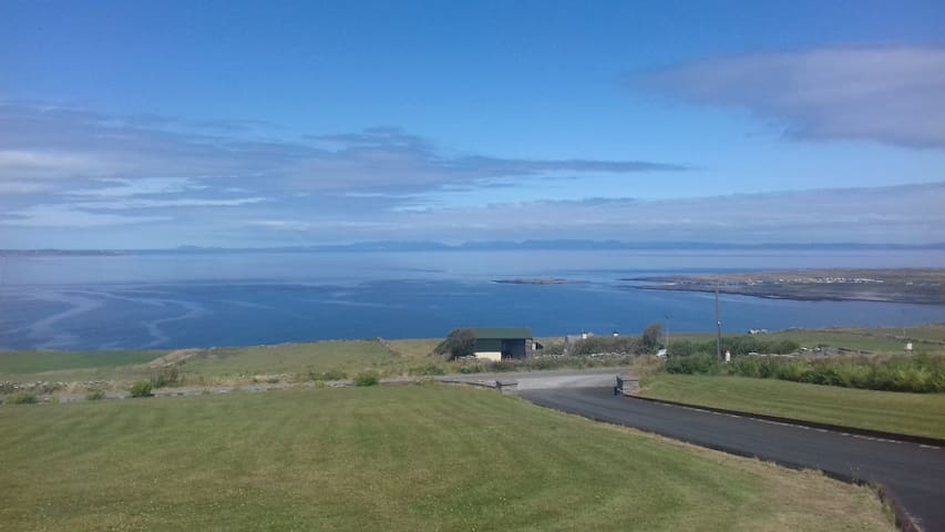 Self Catering Log Cabin with Stunning Sea Views.