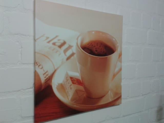 Für einen Café ist immer Zeit