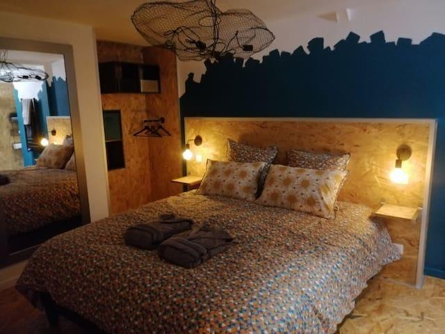 Appartement 70 m² avec terrasse et spa privatifs