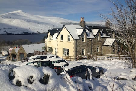 A garden flat with loch view - Perth and Kinross - House