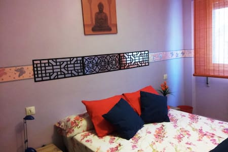 """Buddha "" Beautiful double room . Pamper yourself - Gijón - Daire"