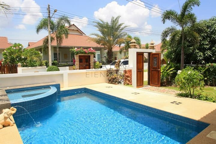 Your Private Pool Villa, close to vibrant Hua Hin.