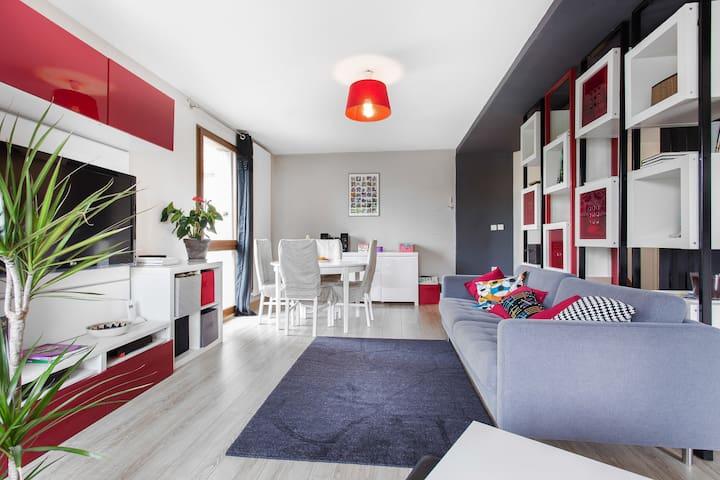 Moderne appartement sur Toulouse