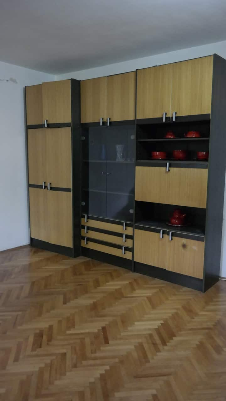 Full privacy into spacious apartment in Skopje