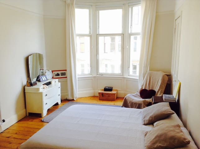 Lovely flat in the heart of Glasgow's WEST END - Glasgow - Wohnung