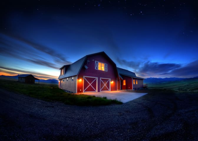 Rural Montana Custom Built Home - Wilsall - Huis