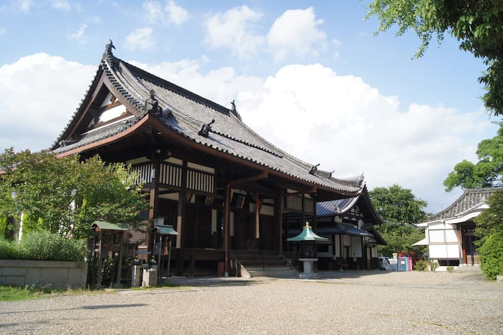 "LOW PRICE Temple Lodging-Shukubo ""Subaru庵""in Osaka"