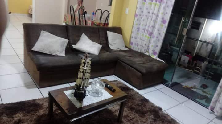 Acomodação Tucumã - Ótimo quarto em casa Manauara