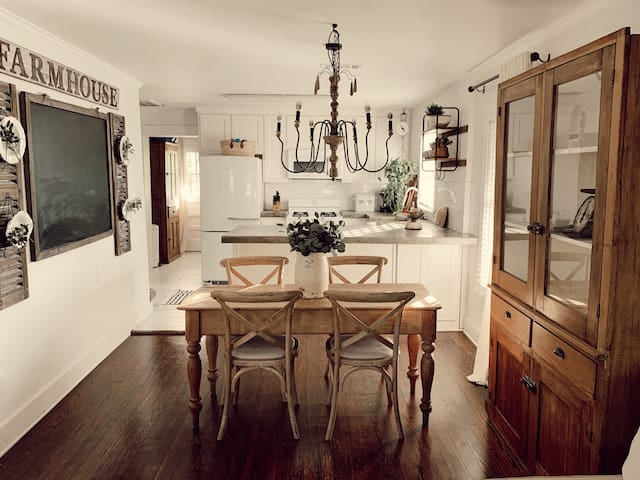 Farmhouse styled, in town cottage.