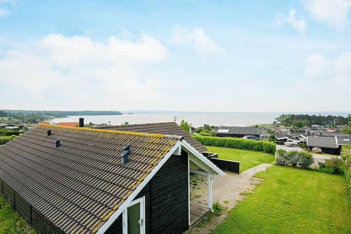 Cozy Holiday Home in Rønde overlooking the bay