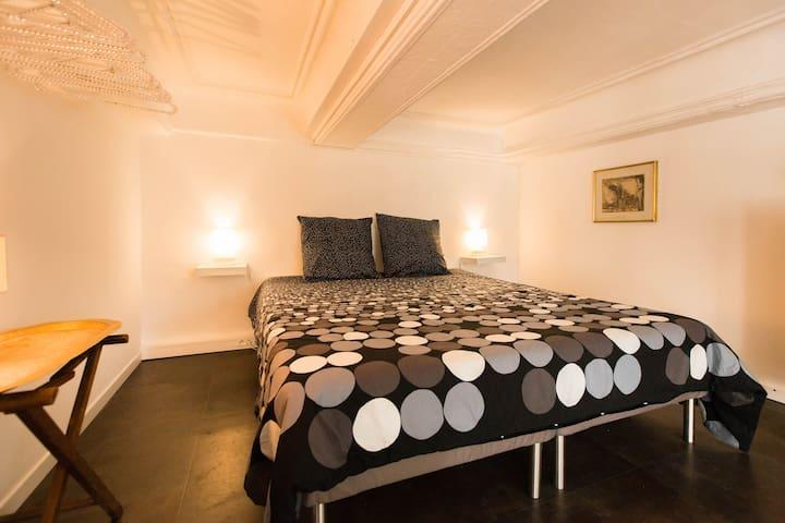 chambre 3 - lit en 160 cm