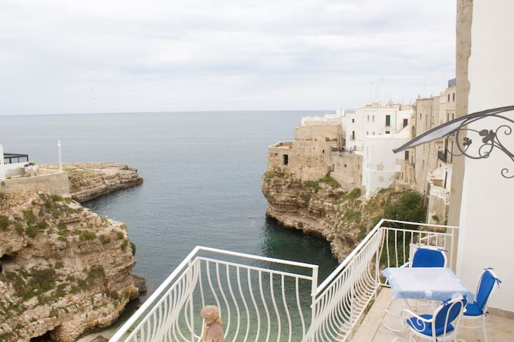 Suite with breathtaking sea view of Polignano - Polignano A Mare - Leilighet