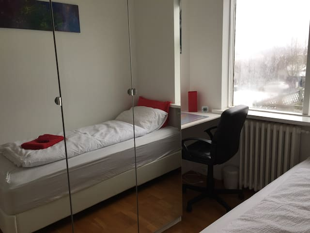 ONLY 2,8km from down town nice room
