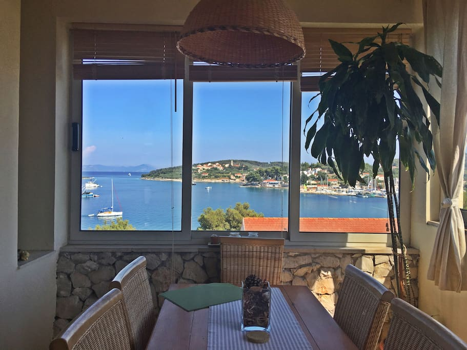 View from the dinning room