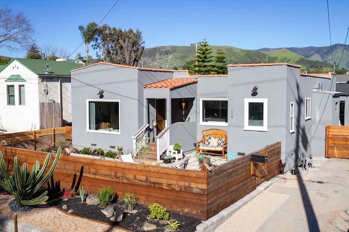 Modern Pet Friendly Home w/Yard near Downtown SLO
