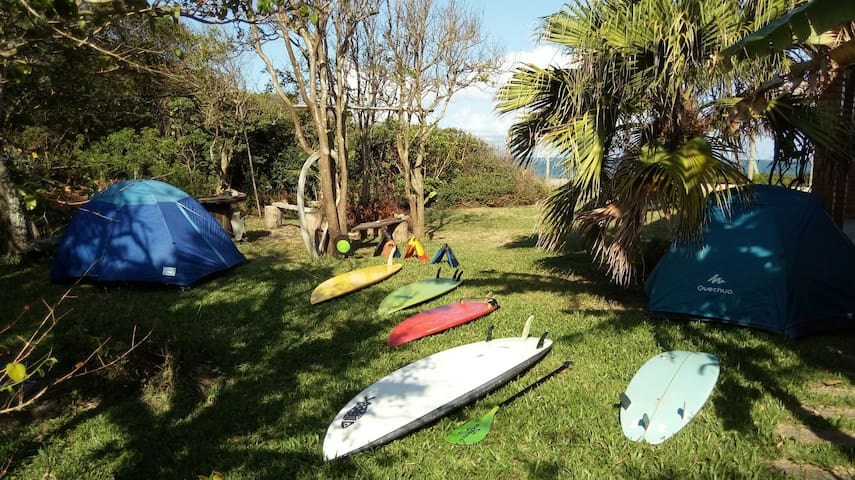 Morro das Pedras Surf Camping, área de camping