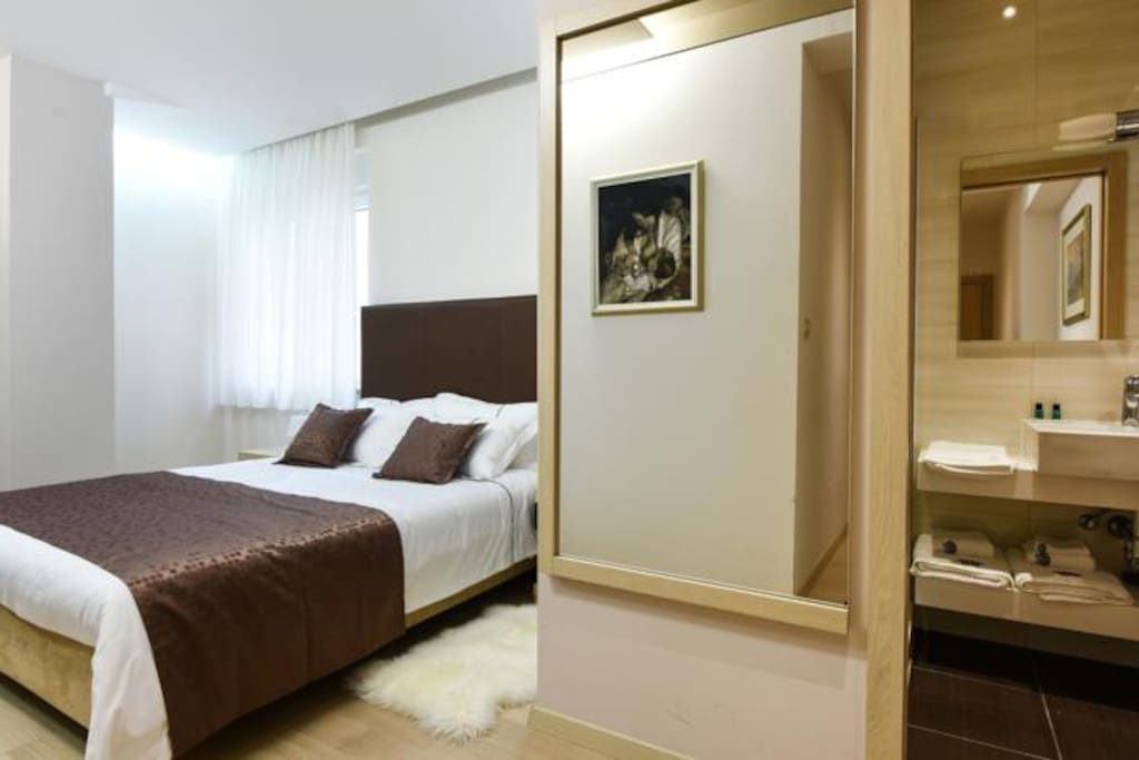 Scallop rooms standard double room chambres d 39 h tes for Chambre hote zadar
