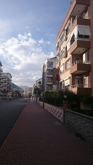 Building with street view.