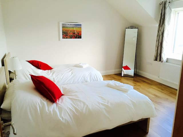 Dingle town centre twin room