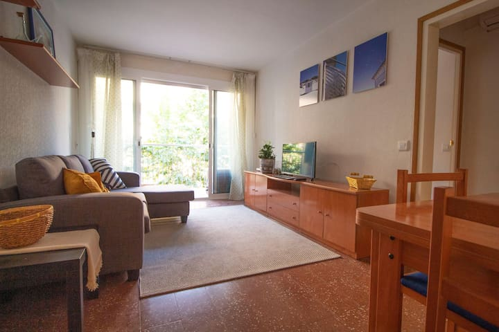 Apartment, 2 bedrooms and wifi close to the beach
