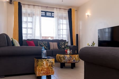 Cozy 2 bedroom apartment close to Nairobi Airport