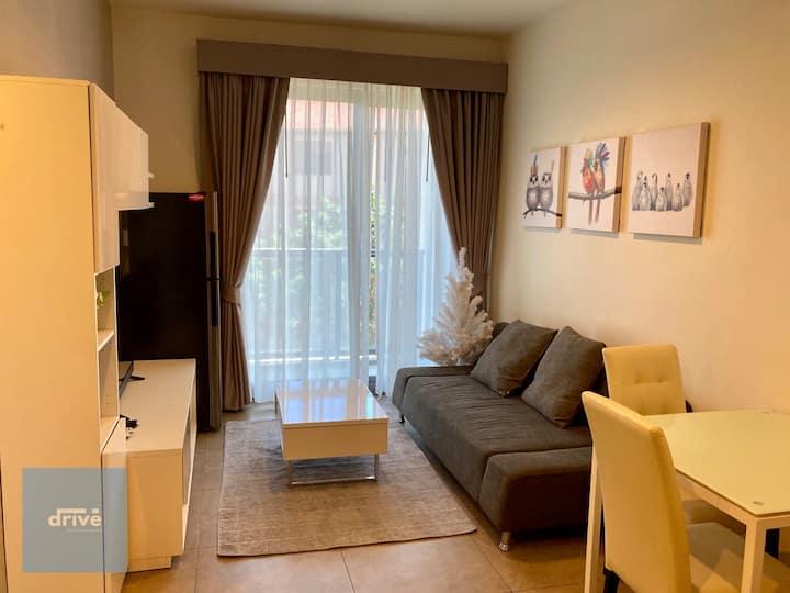 1 bedroom, 35 sq.m., Unixx South Pattaya F5B