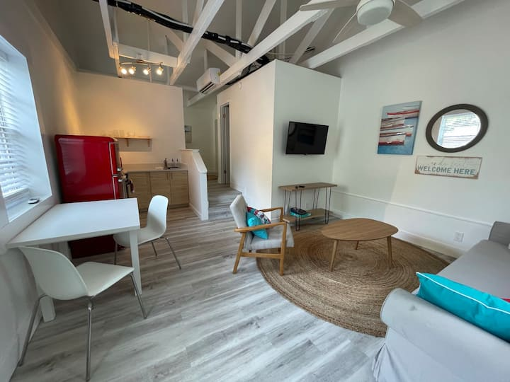 Newly Remodeled 1 Bdrm Apt, 100ft to the Beach