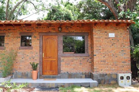 Cabaña Los Árboles - monoambiente.
