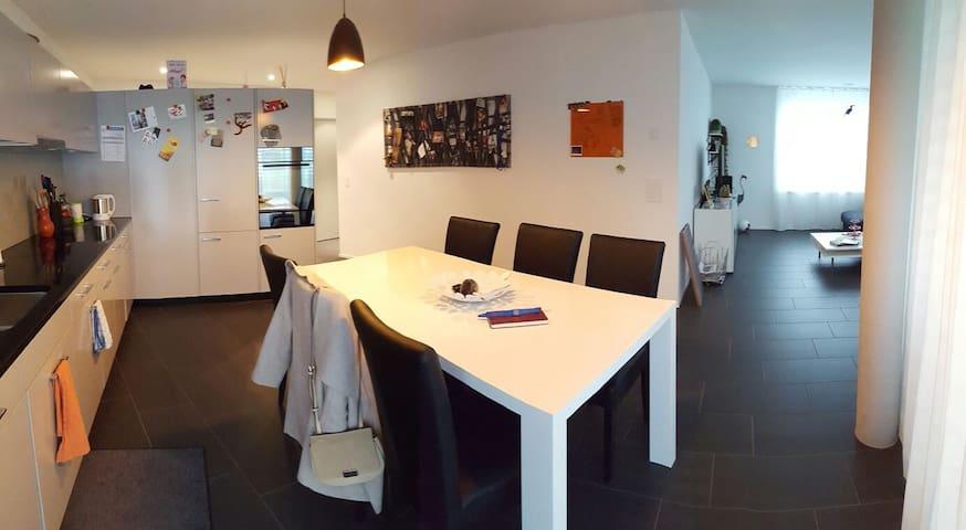 2.5 Zimmer Gartenwohnung zwischen Baden und Brugg - Gebenstorf - Lägenhet
