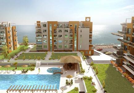 Pomorie, First line, studio - Apartment