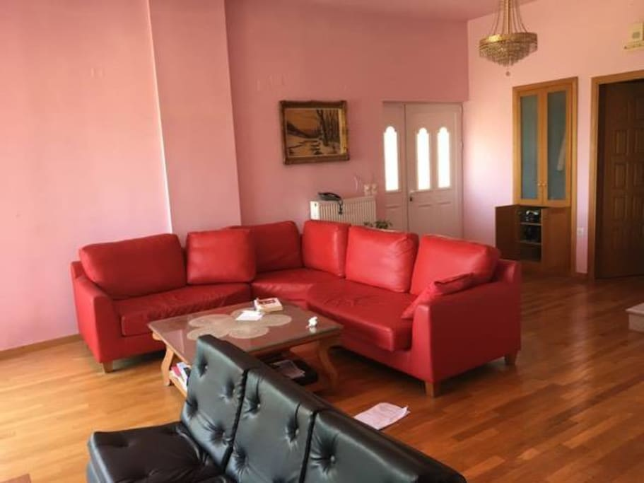 A huge living room