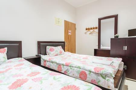 Комната в центре с 2 кроватями без окна - Москва - Wohnung
