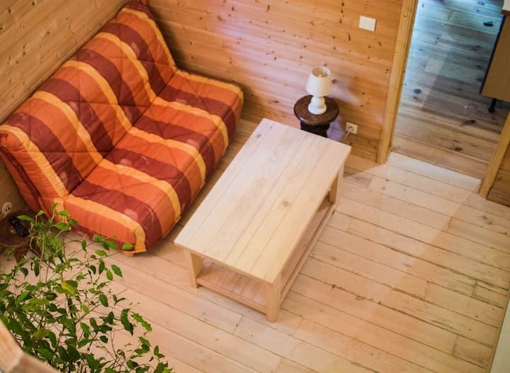 logement indépendant en pleine nature
