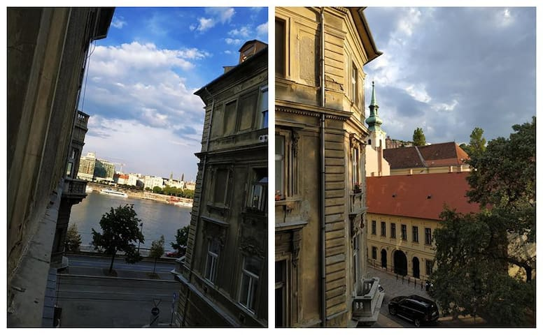 50 sqm aparment next to Danube in center/oldtown
