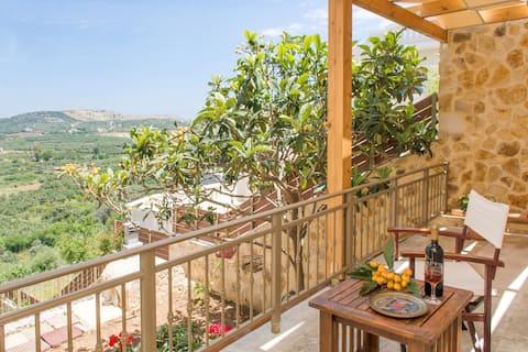 Zacky Roumeli hillside spacious apartment