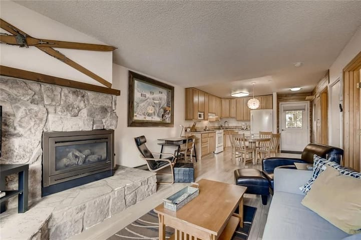 Keystone Condo, 5 min walk to Peru lift & shuttles